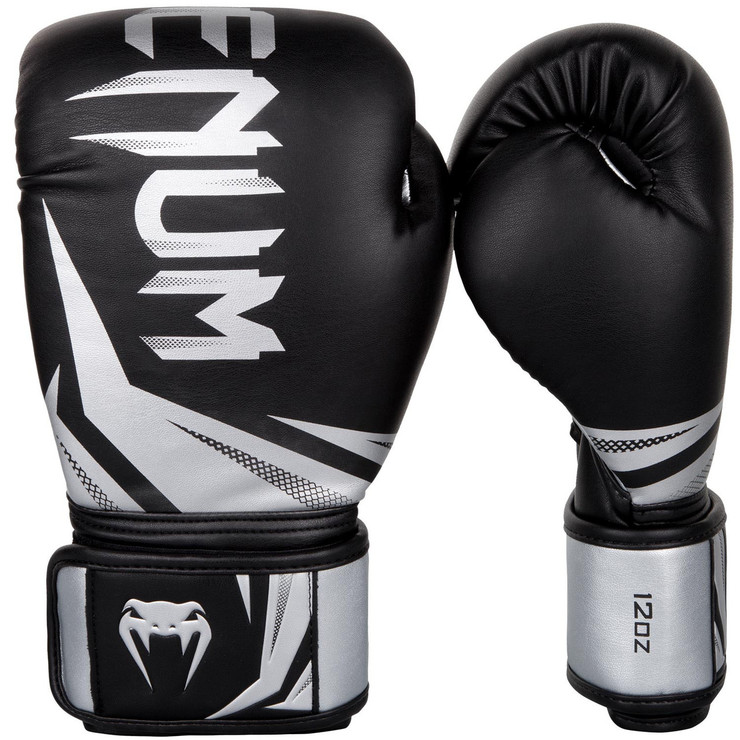 Venum Challenger 3.0 Boxing Gloves Black/Silver