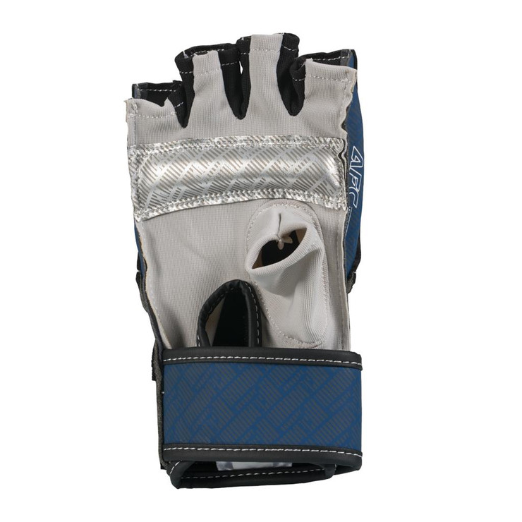 Century Brave Grip Bar Gloves Silver/Navy