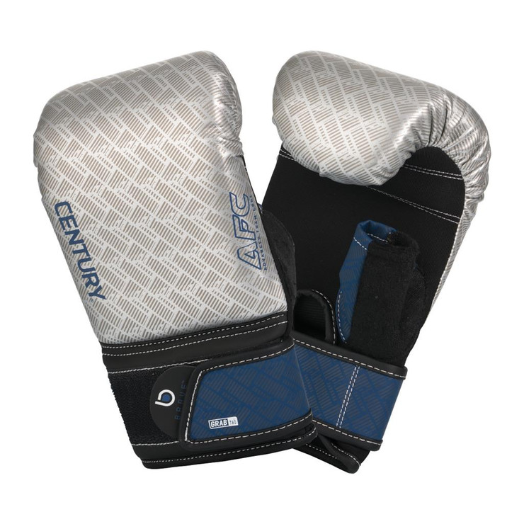 Century Brave Oversize Bag Gloves Silver/Navy