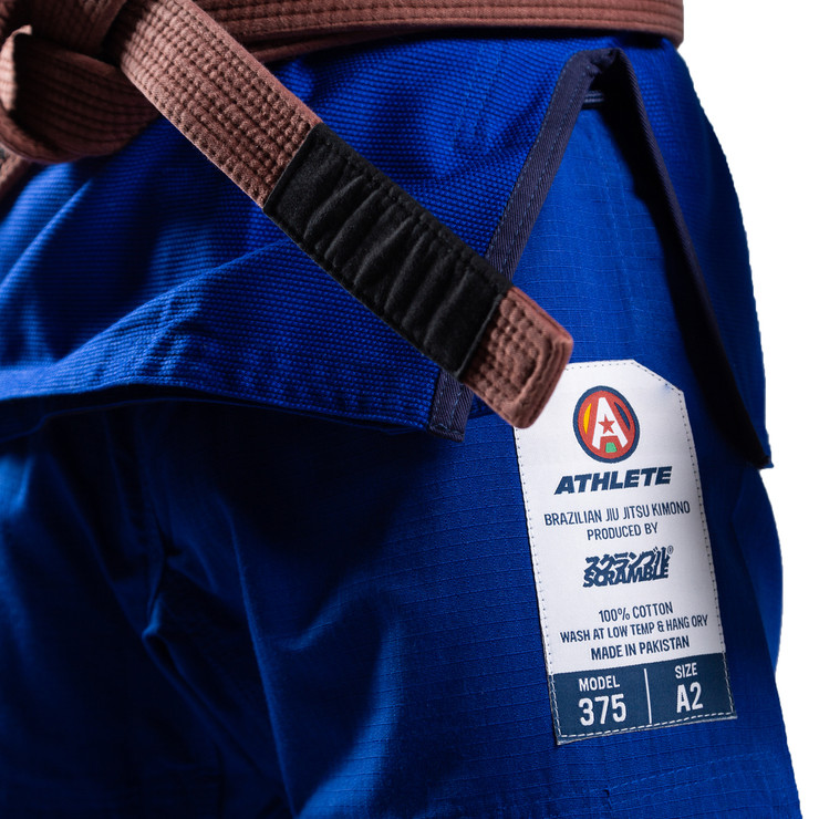Scramble Athlete V4 375 BJJ Gi Blue