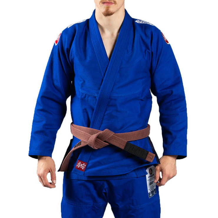 Scramble Athlete V4 450 BJJ Gi Blue