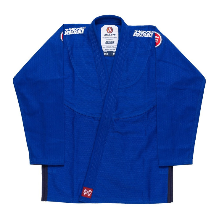 Scramble Athlete V4 450 Ladies BJJ Gi Blue