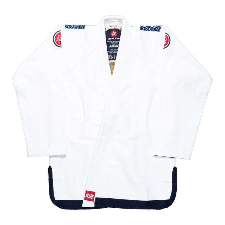 Scramble Athlete V4 550 Ladies BJJ Gi White