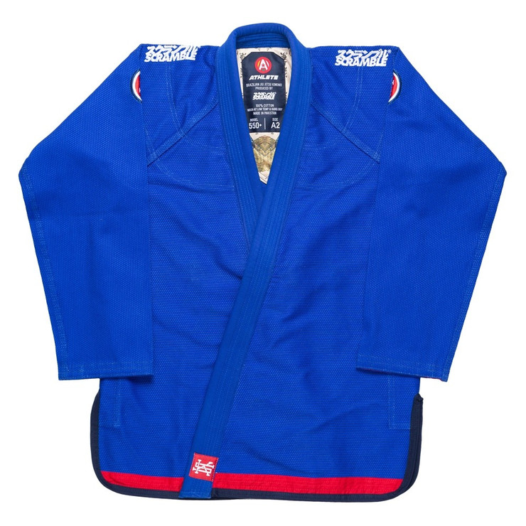 Scramble Athlete V4 550 Ladies BJJ Gi Blue