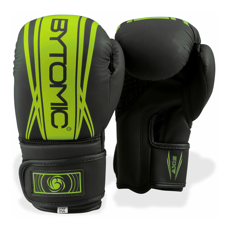 Bytomic Axis V2 Kids Boxing Gloves Black/Green