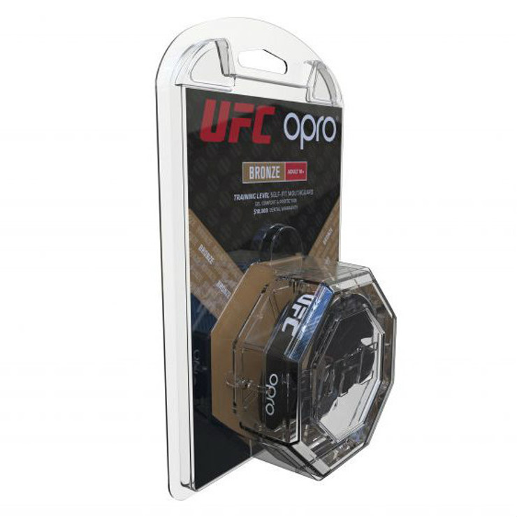 Opro UFC Bronze Mouth Guard Black