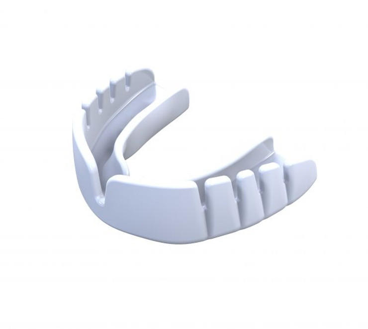 Opro UFC Snap Fit Mouth Guard White