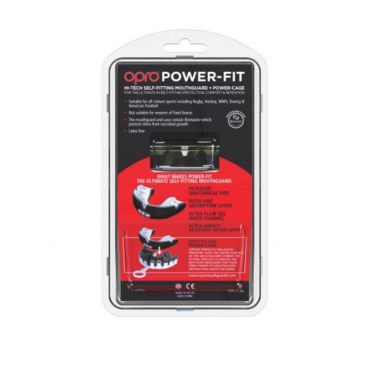 Opro Power Fit Countries Mouth Guard USA
