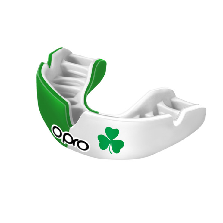 Blue//White Opro Power-Fit Scotland Mouth Guard