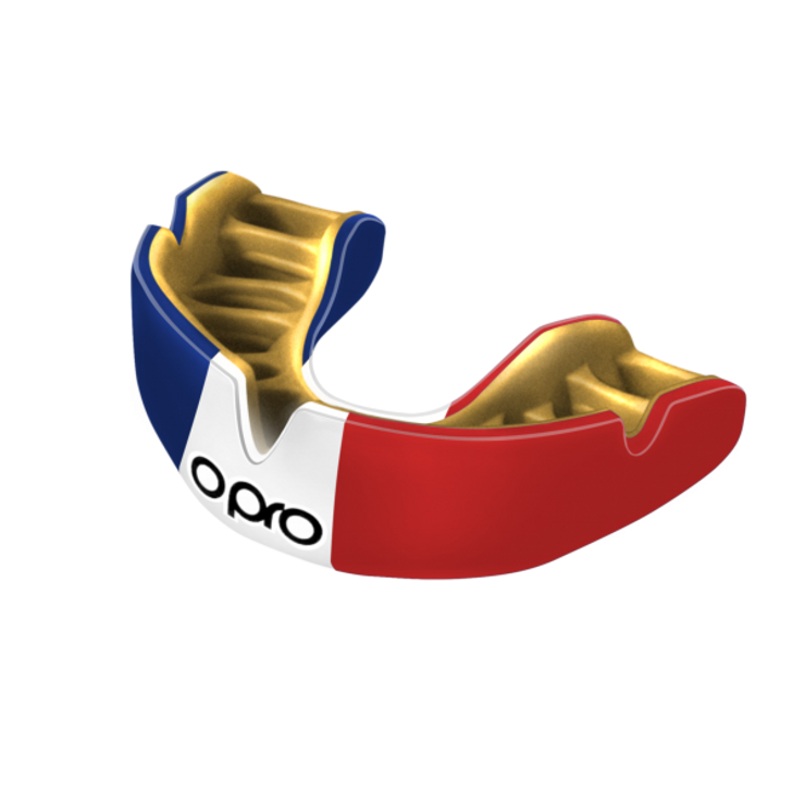 Opro Power Fit Countries Mouth Guard France