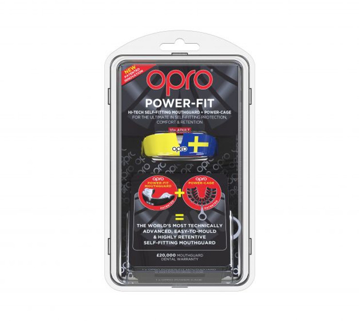 Opro Power Fit Countries Mouth Guard Sweden