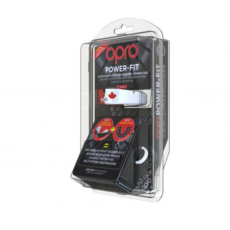Opro Power Fit Countries Mouth Guard Canada
