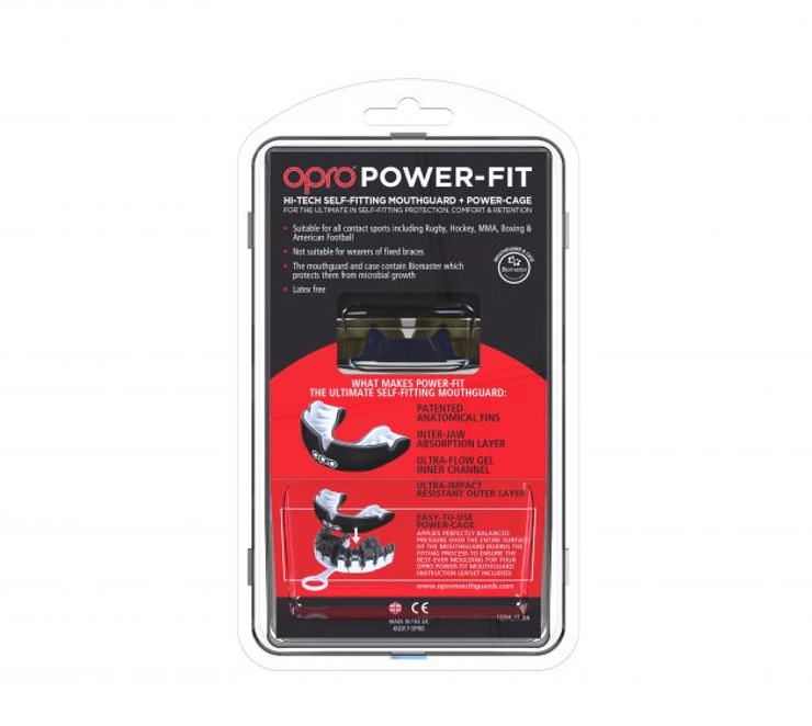 Opro Power Fit Countries Mouth Guard New Zealand