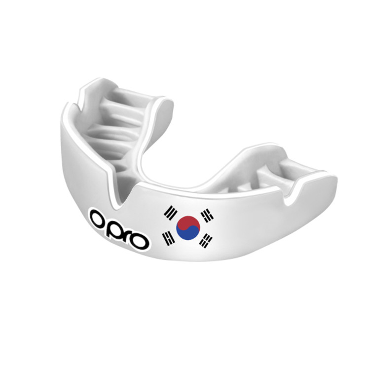 Opro Power Fit Countries Mouth Guard South Korea
