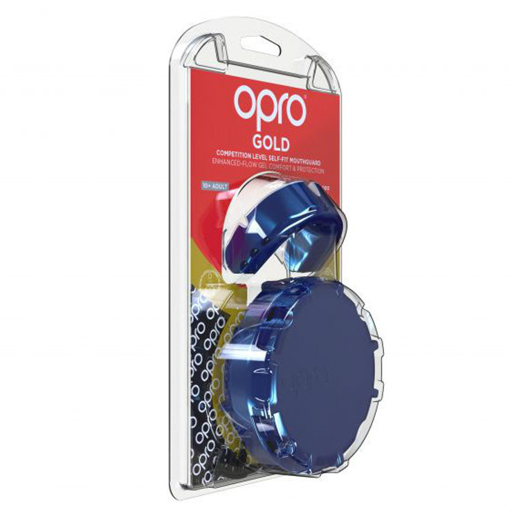 Opro Gold Gen 4 Mouth Guard Pearl Blue/Pearl