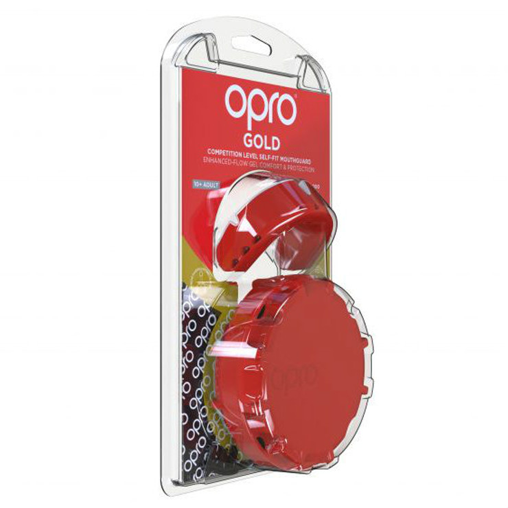 Opro Gold Gen 4 Mouth Guard Red/Pearl