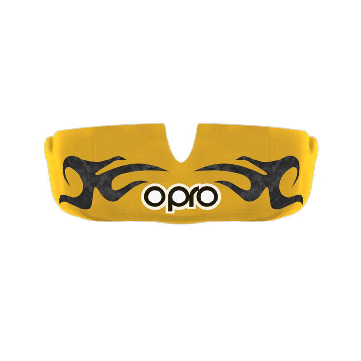 Opro Power Fit Bling Urban Mouth Guard Gold/White