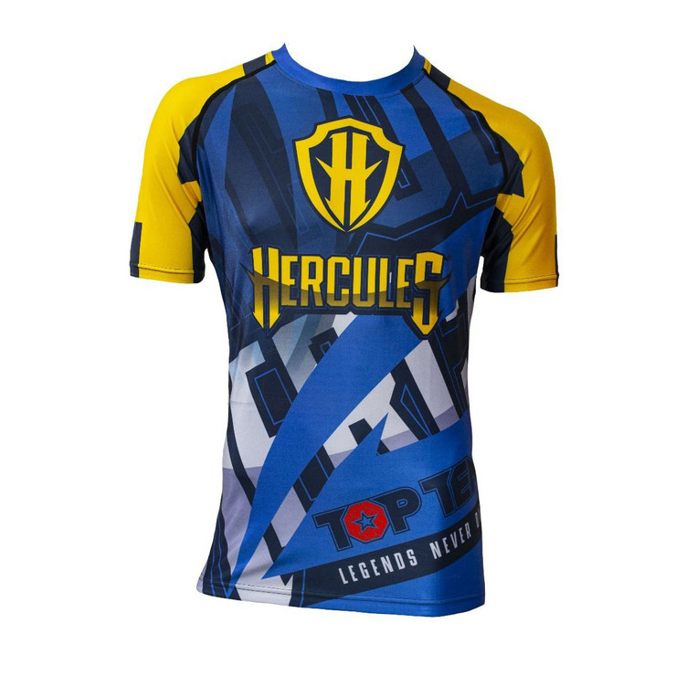 Top Ten Hercules Short Sleeve Rash Guard