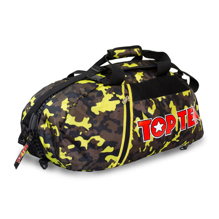 Top Ten Sportbag/Backpack Yellow/Camo