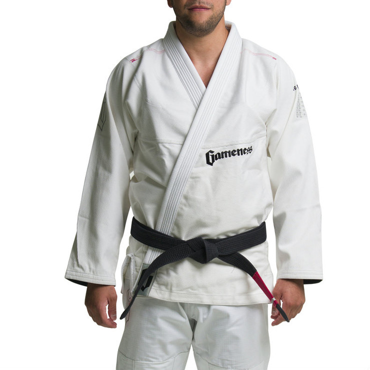 Gameness Feather BJJ Gi White