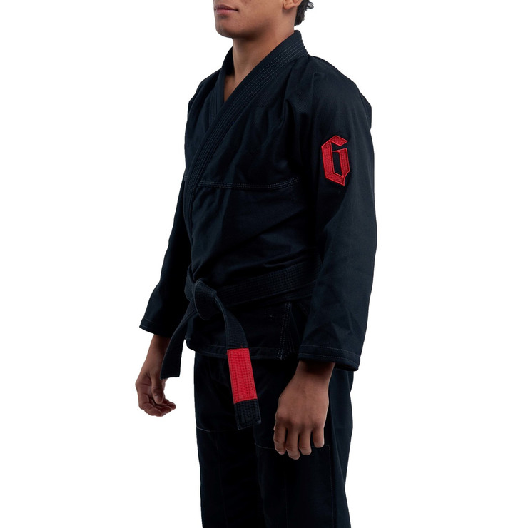 Gameness Air Pro BJJ Gi Black