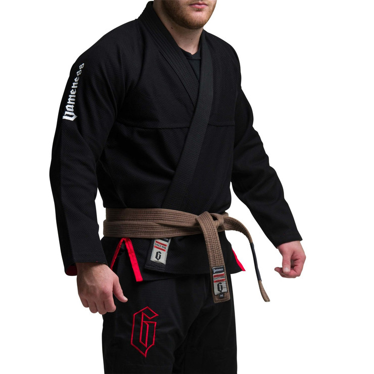 Gameness Air BJJ Gi Black