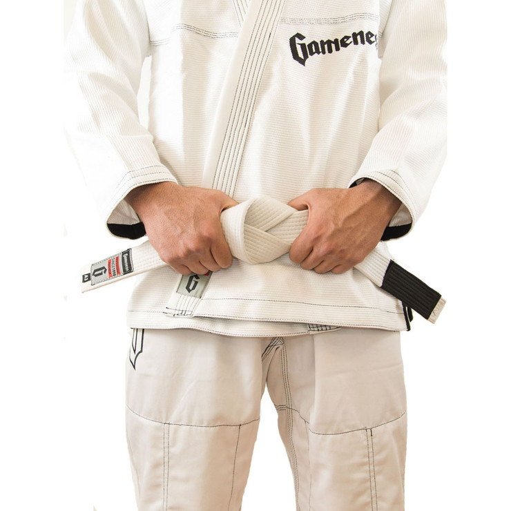 Gameness Adult BJJ Belt White