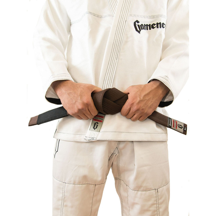 Gameness Adult BJJ Belt Brown