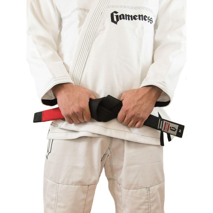Gameness Adult BJJ Belt Black