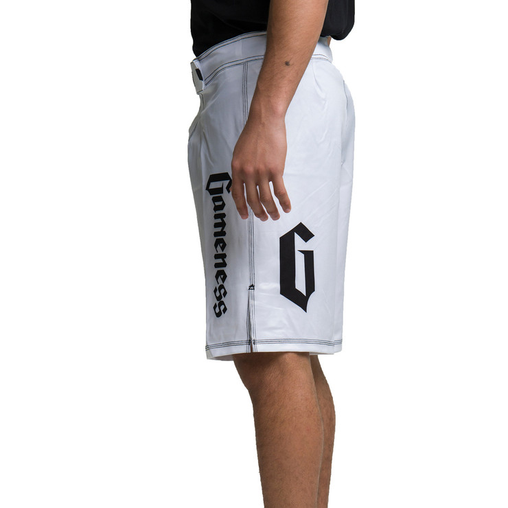 Gameness Flex Shorts White