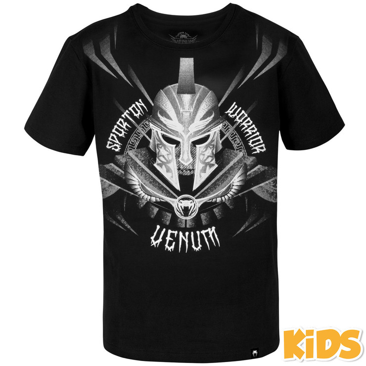 Venum Gladiator Kids T-Shirt Black/White