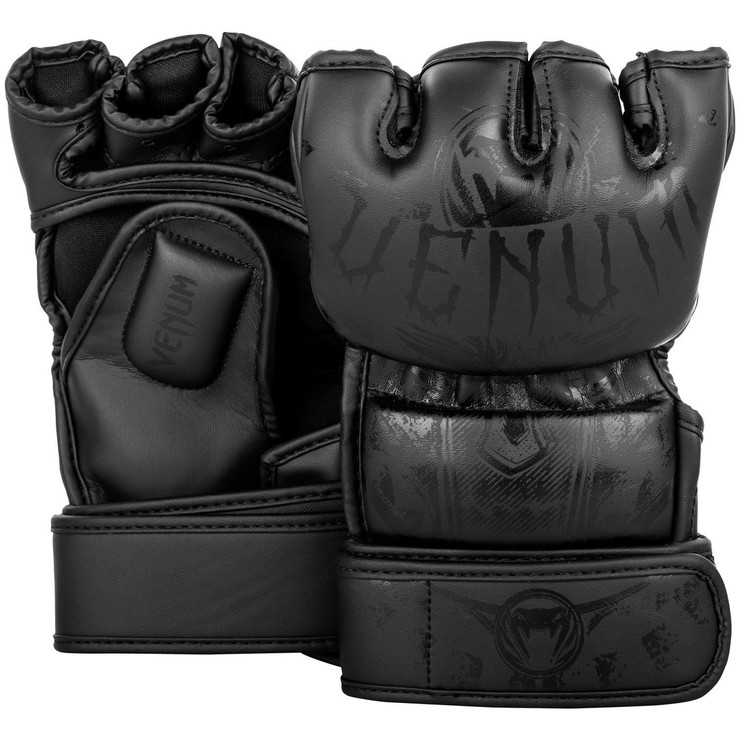 Venum Gladiator 3.0 MMA Gloves Black/Black