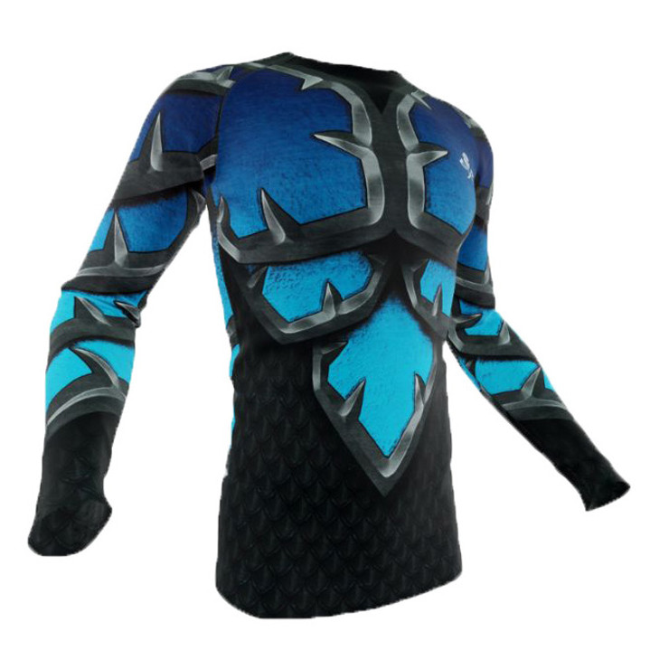 Razorstorm Frozen Battle Armour Long Sleeve Rash Guard