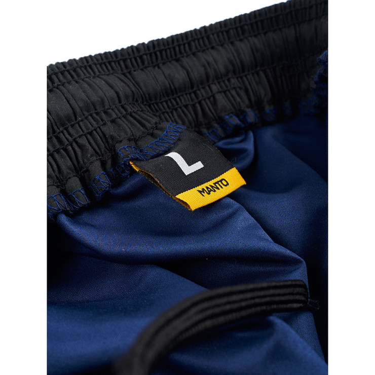 Manto Emblem Fight Shorts Navy