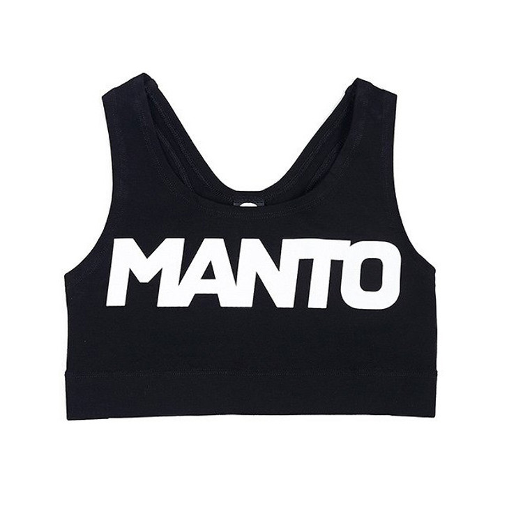 Manto Ladies Training Sport Top Black