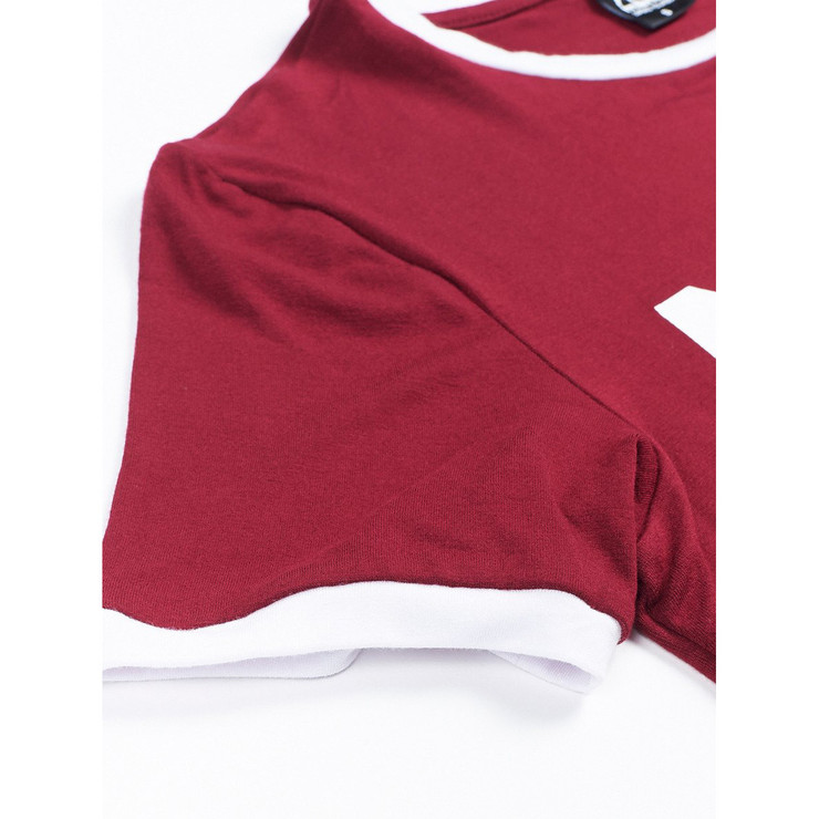 Manto Ladies Vintage T-Shirt Maroon
