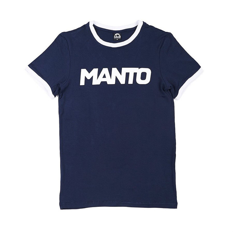 Manto Ladies Vintage T-Shirt Navy