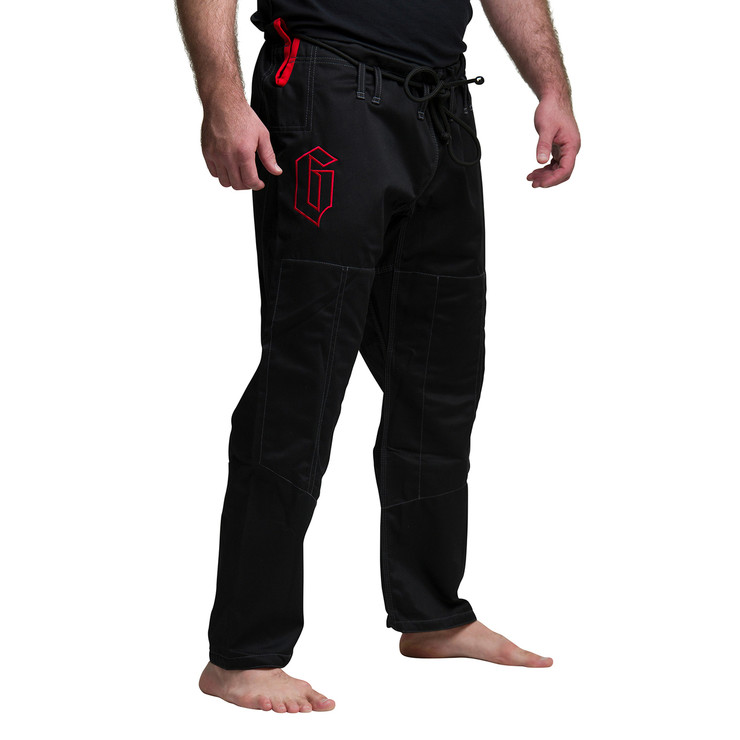 Gameness Pearl BJJ Gi Black