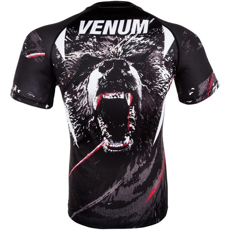 Venum Grizzli Short Sleeve Rash Guard