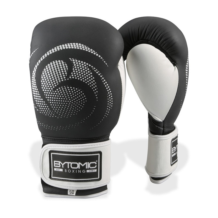 Bytomic Legacy Leather Boxing Gloves Black/White