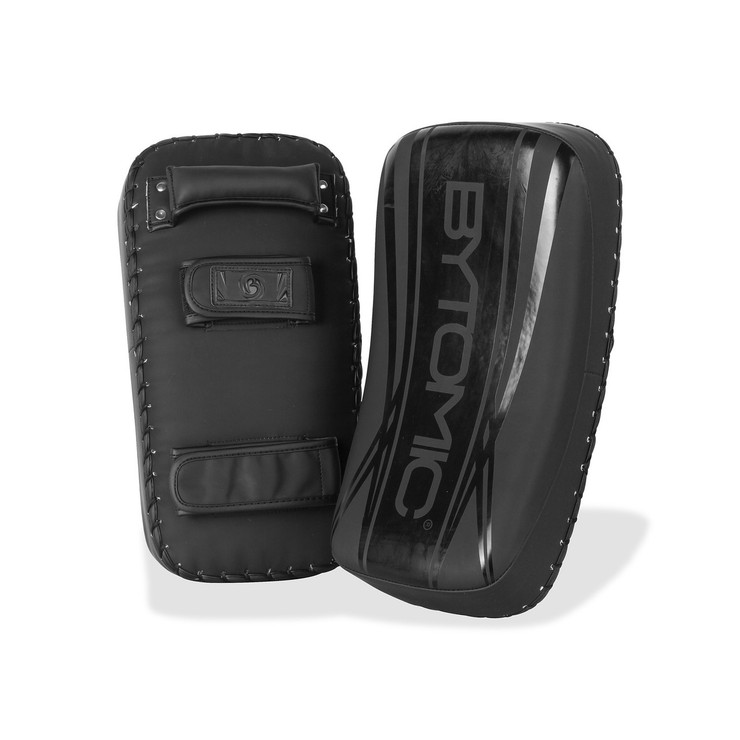 Bytomic Axis V2 Curved Thai Pads Black/Black