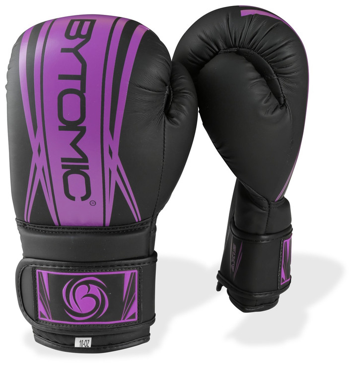 Bytomic Axis Ladies Boxing Gloves Black/Purple