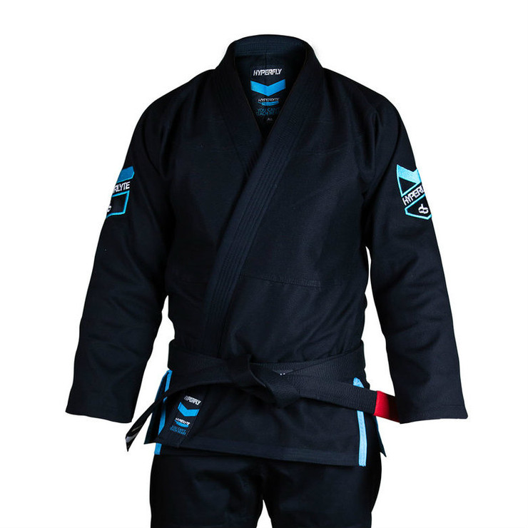 Hyperfly Hyperlyte BJJ Gi Black/Ice Blue