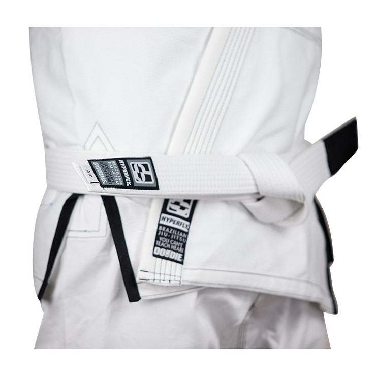 Hyperfly Basic BJJ Gi Belt White
