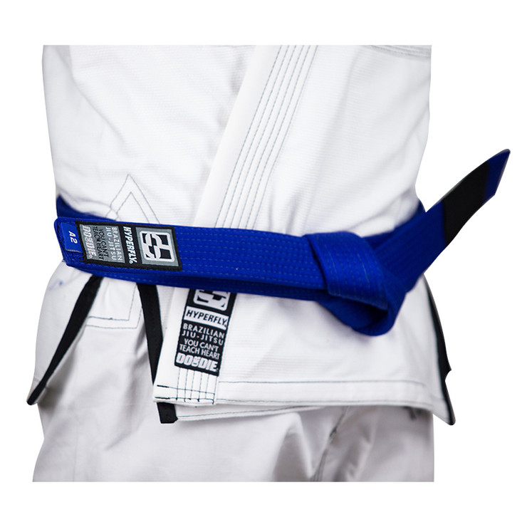 Hyperfly Basic BJJ Gi Belt Blue
