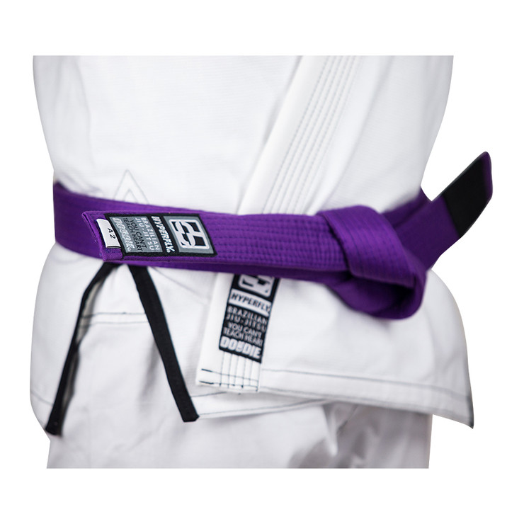 Hyperfly Basic BJJ Gi Belt Purple
