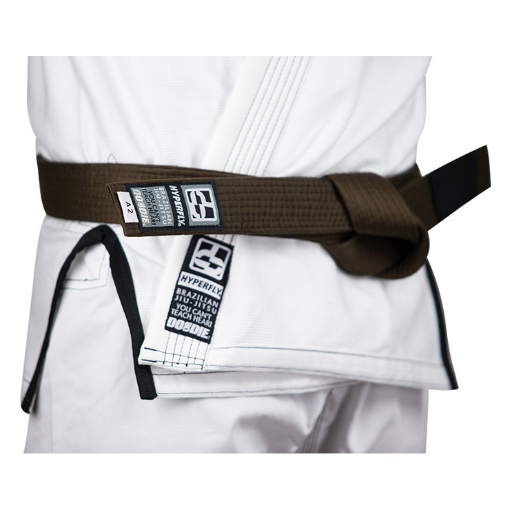 Hyperfly Basic BJJ Gi Belt Brown
