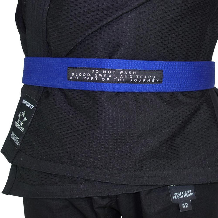 Hyperfly Deluxe BJJ Gi Belt Blue