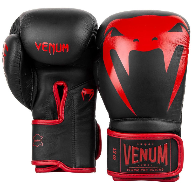 Venum Giant 2.0 Pro Boxing Gloves Black/Red