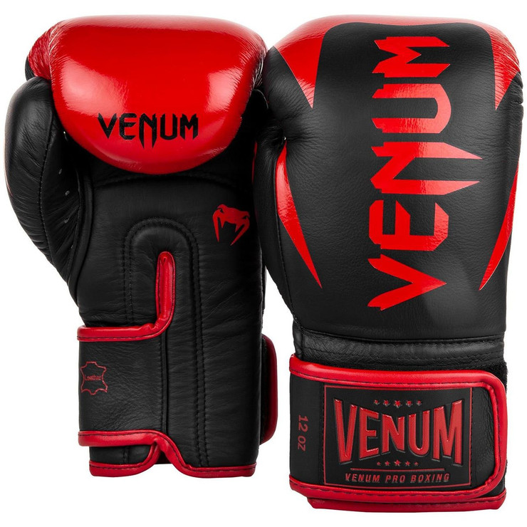Venum Hammer Pro Boxing Gloves Black/Red